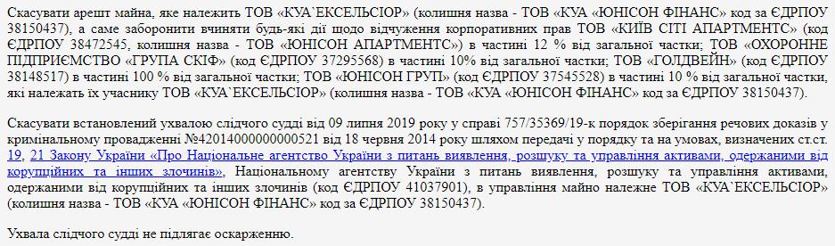 Суд принял неожиданное решение по делу Клименко