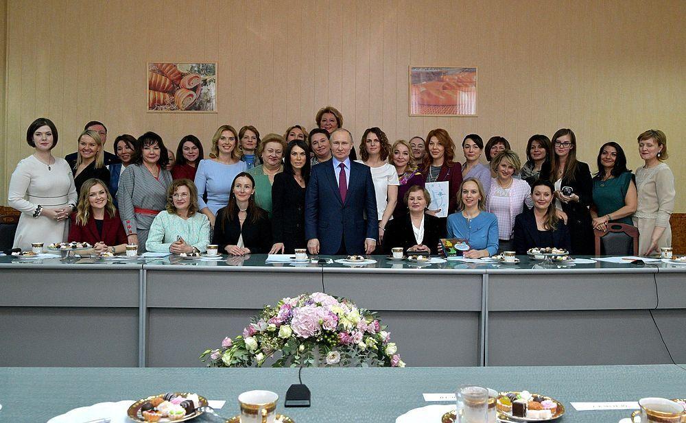 Зустріч із жінками-підприємцями. 2018 р.