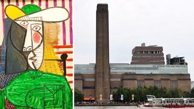 Робота художника і музей, де стався інцидент із картиною