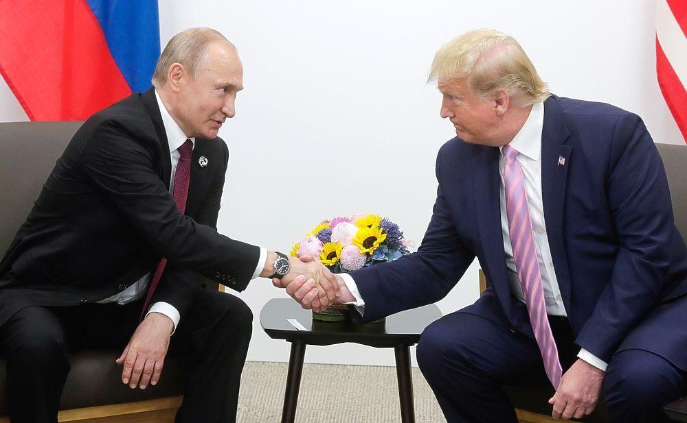 Із президентом США Дональдом Трампом. 2019 р.
