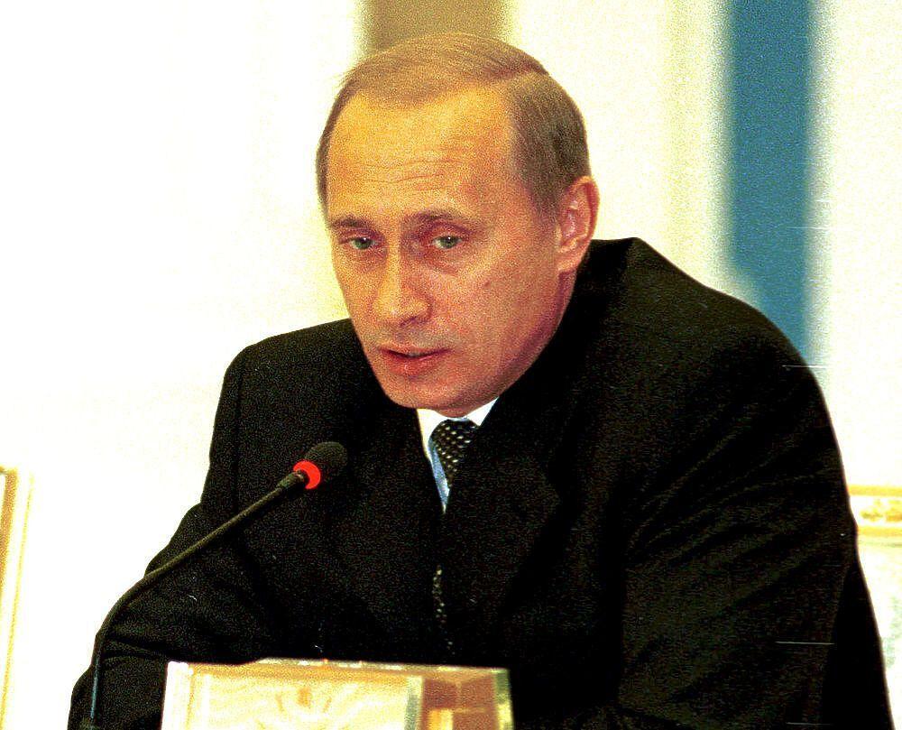 Президент Росії Володимир Путін. Фото Михайло Ковальов. 2001 р.