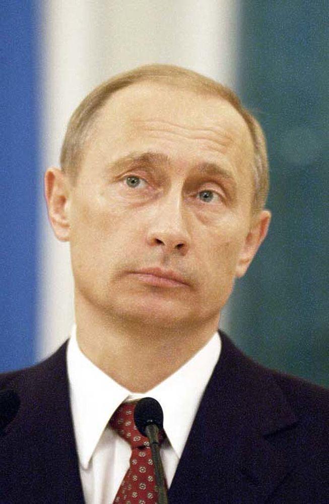 Президент Росії Володимир Путін. Фото Олександр Астаф'єв. 2003 р.