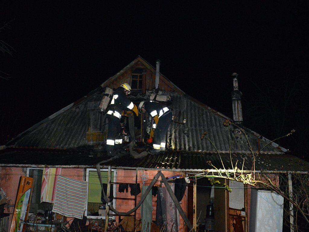 В Днепре пожар унес жизни двух мужчин