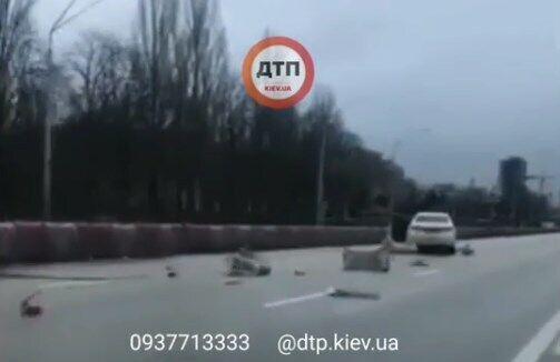 ДТП на проспекте Победы в Киеве