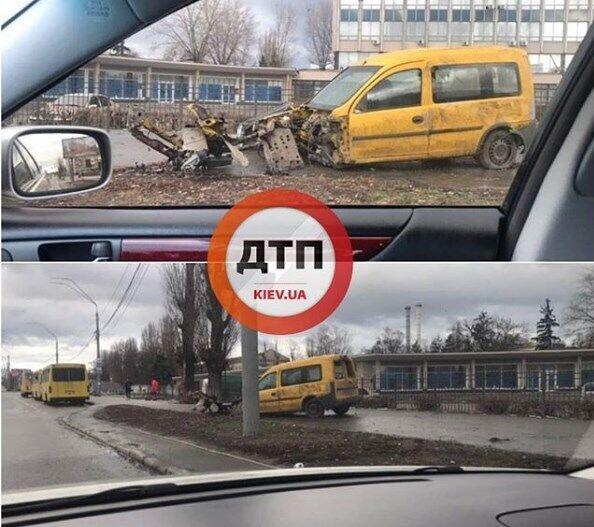 """ДТП возле метро """"Святошин"""""""