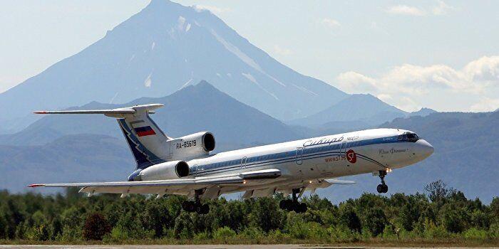 """Ту-154 компании """"Сибирь"""""""