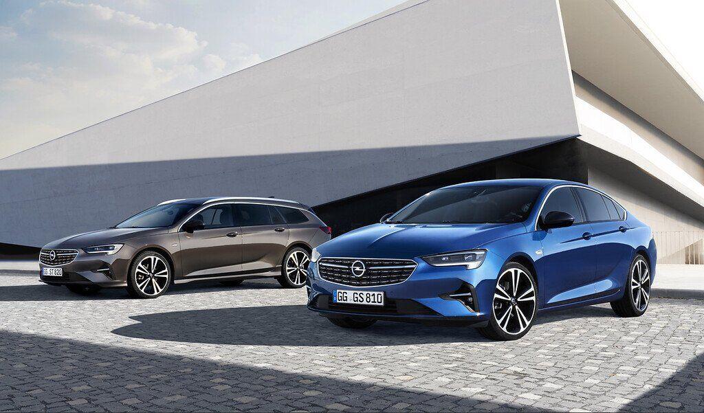 Лифтбек и универсал Opel Insignia 2020