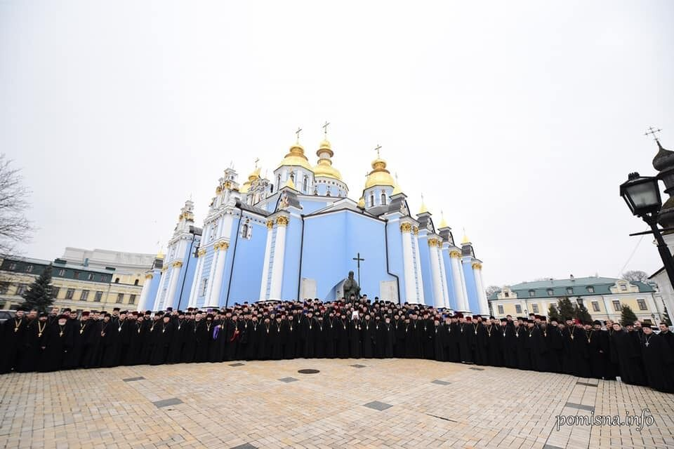 Клир ПЦУ Киева и области