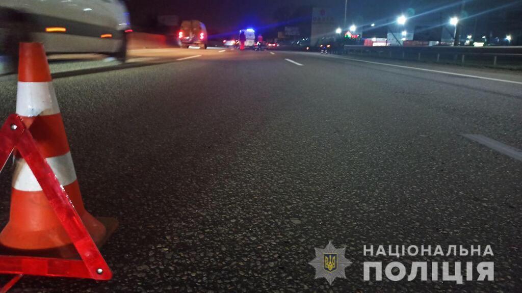На киевской трассе под Одессой погиб пешеход