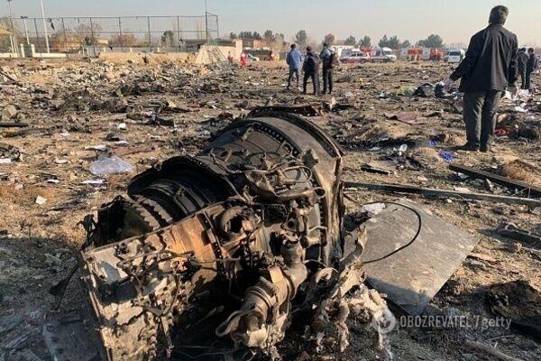 Крушение украинского Boeing 737