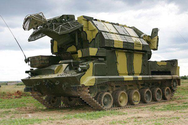 """ЗРК """"Тор-М1"""""""