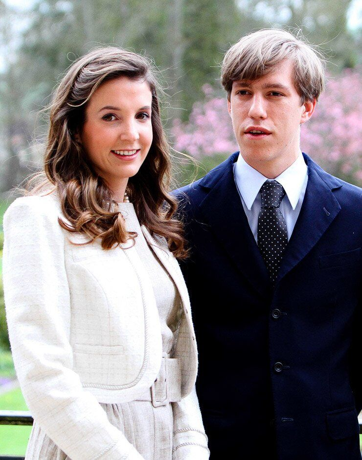 Принц Луи Люксембургский и его жена Тесси Антони
