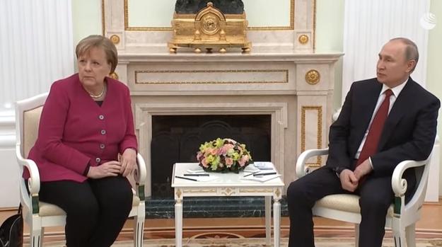 Меркель приехала к Путину в Кремль