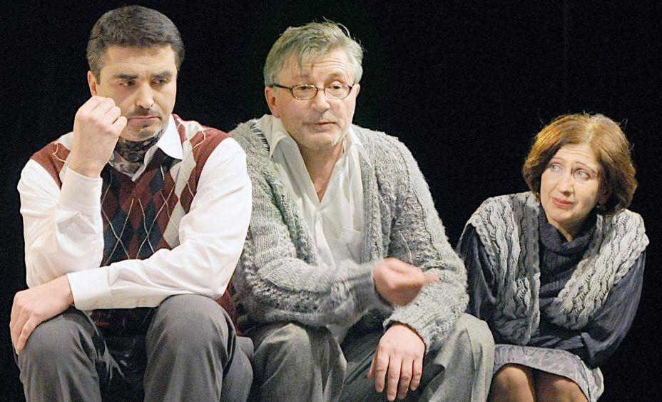Станислав Боклан и его жена в театре