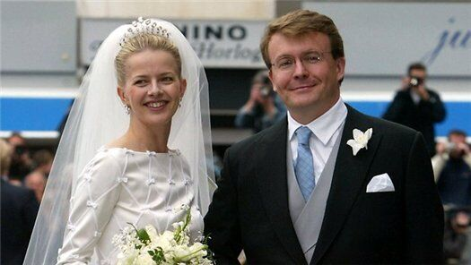 Принц Фризо Оранско-Нассауский и его жена Мейбл Виссе-Смит