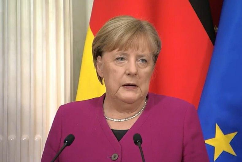 Меркель на пресс-конференции