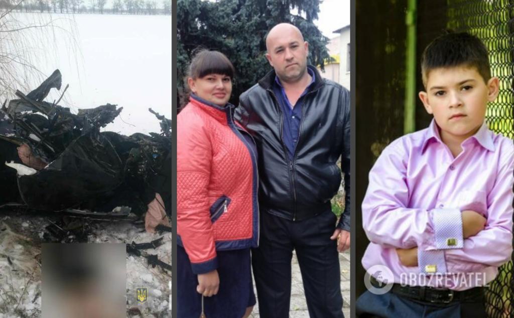 В ДТП погибли Юлия и Руслан Мельниковы с сыном Никитой