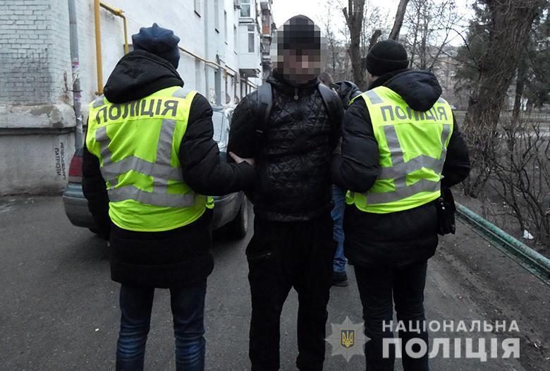 У Києві зловили маніяка, який завдав жертві 17 ударів ножем