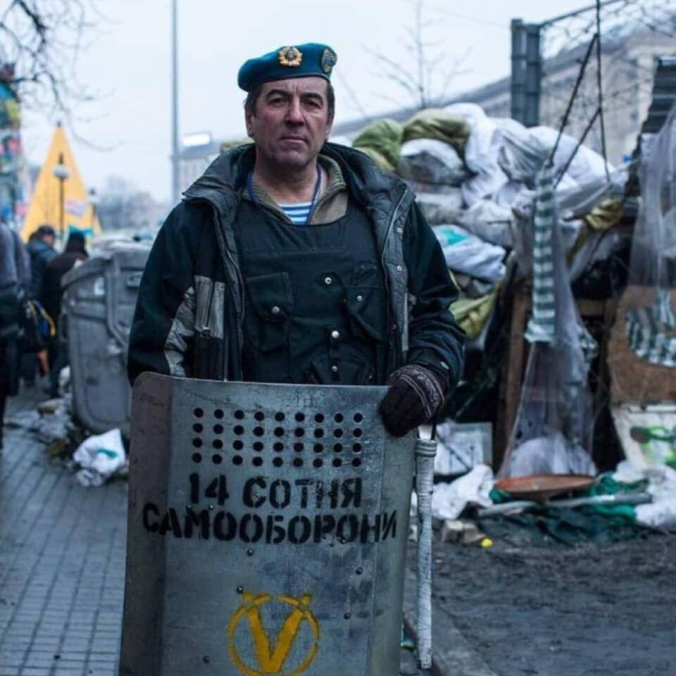 Юрій Тимошенко під час Майдану
