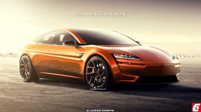 Такой дизайн для новой Tesla Model S – смелое решение