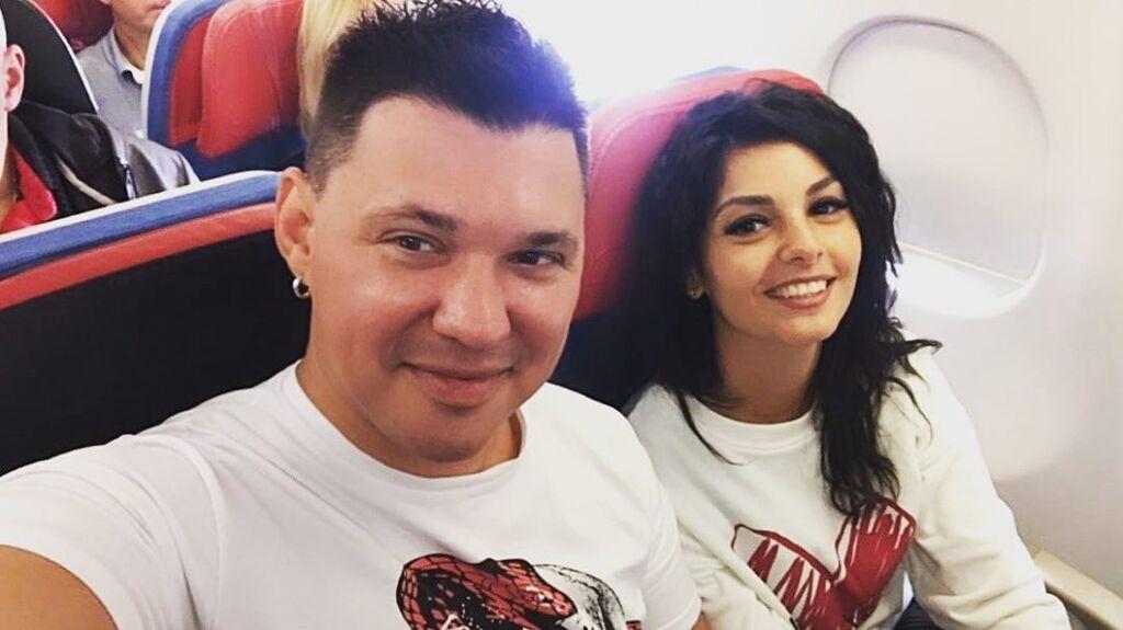 Олексій Кабанов з дружиною