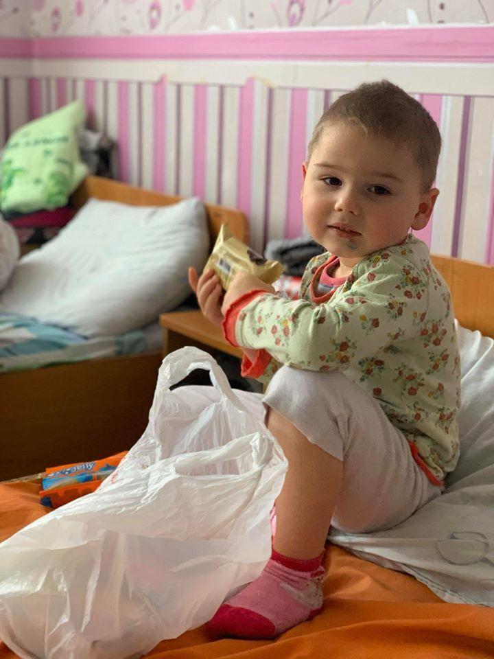 Самый маленький – 3-летний Леня