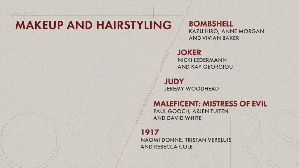 """""""Оскар-2020"""": названы все номинанты на главную кинонаграду мира"""