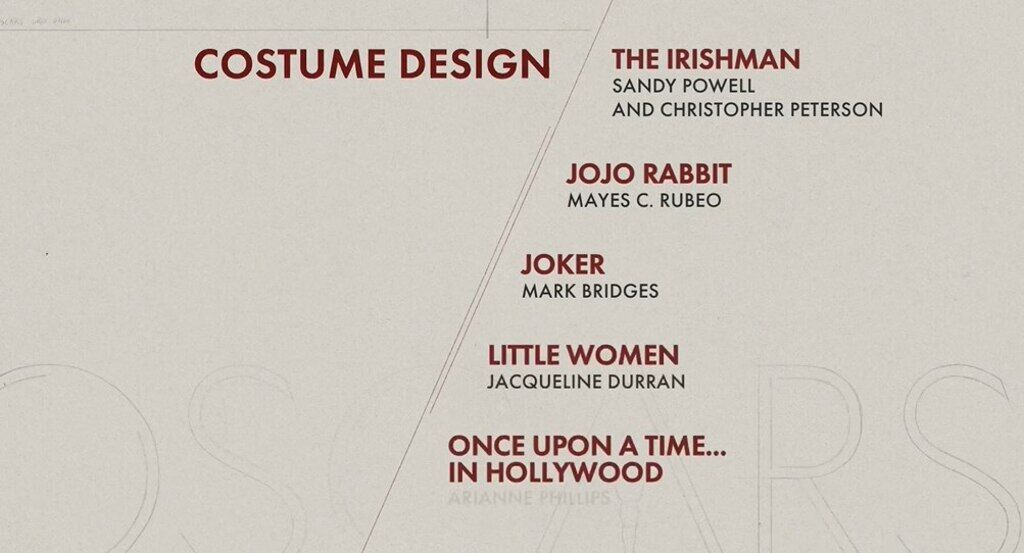 """""""Оскар-2020"""": названі всі номінанти на головну кінонагороду світу"""