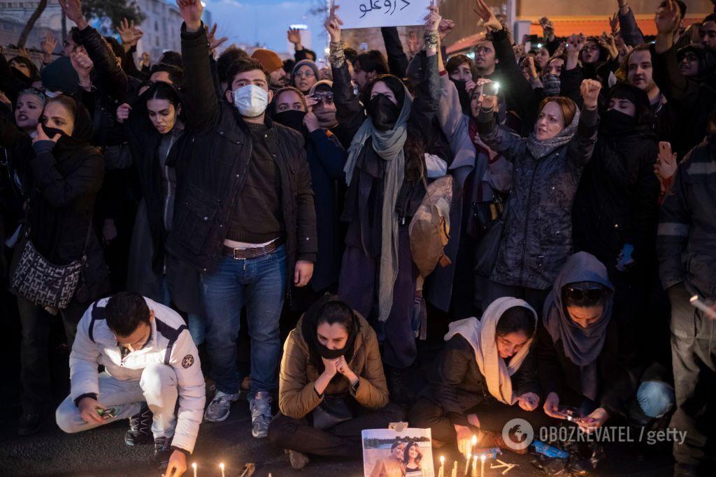 Криваві протести: як авіакатастрофа українського Boeing призвела до кризи в Ірані