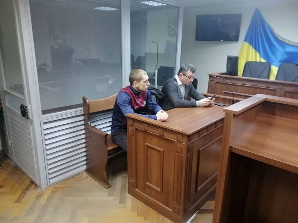 Обвиняемый Сергей Олейник