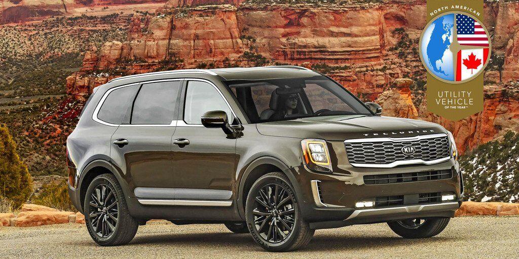 Kia Telluride став переможцем в номінації SUV року за версією NACTOY2020