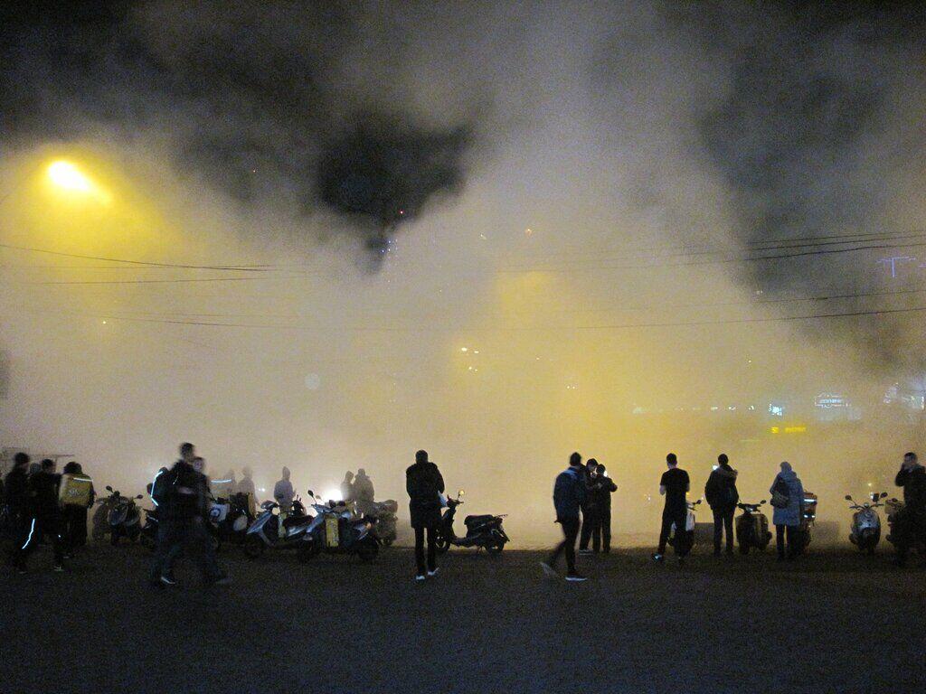 В Киеве затопило кипятком Ocean Plaza