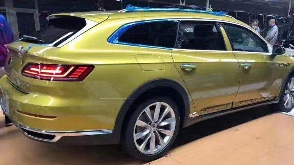 Практичный кузов и стремительные линии – так выглядит универсал Volkswagen Arteon
