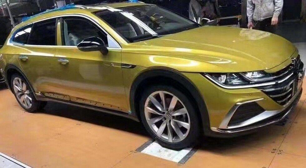 VW Arteon получил практичную модификацию с некоторыми дополнениями