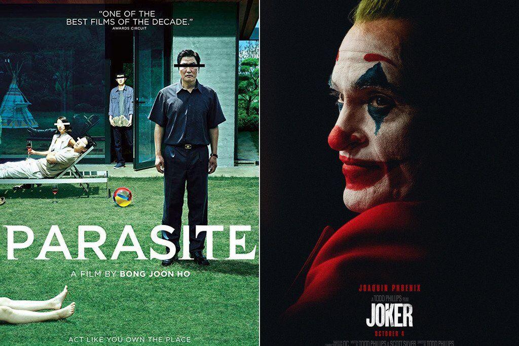 """Фільми """"Паразити"""" і """"Джокер"""""""