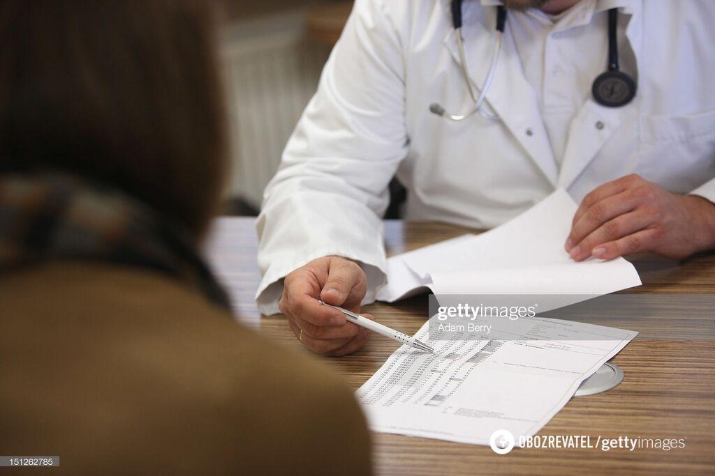 При первых симптомах обращайтесь к врачу