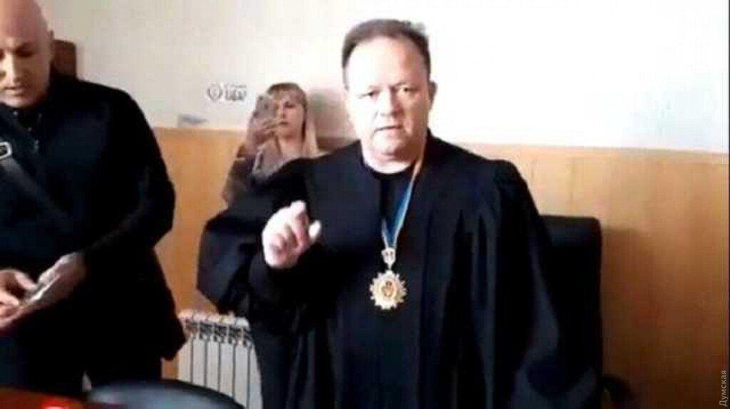 Вища рада правосуддя покарав скандального суддю з Одеси Івана Шепітко