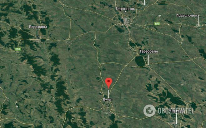 ДТП произошло на трассе возле с. Зеленая Тернопольской области