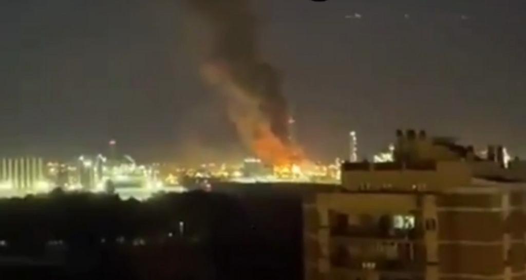 Взрыв на заводе в Таррагоне