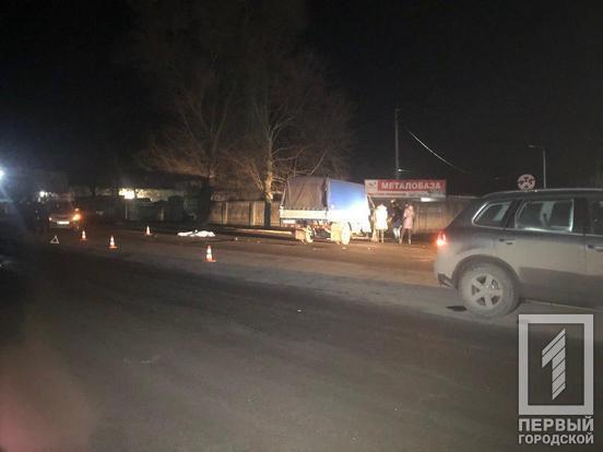 На Днепропетровщине девушка погибла под колесами грузовика