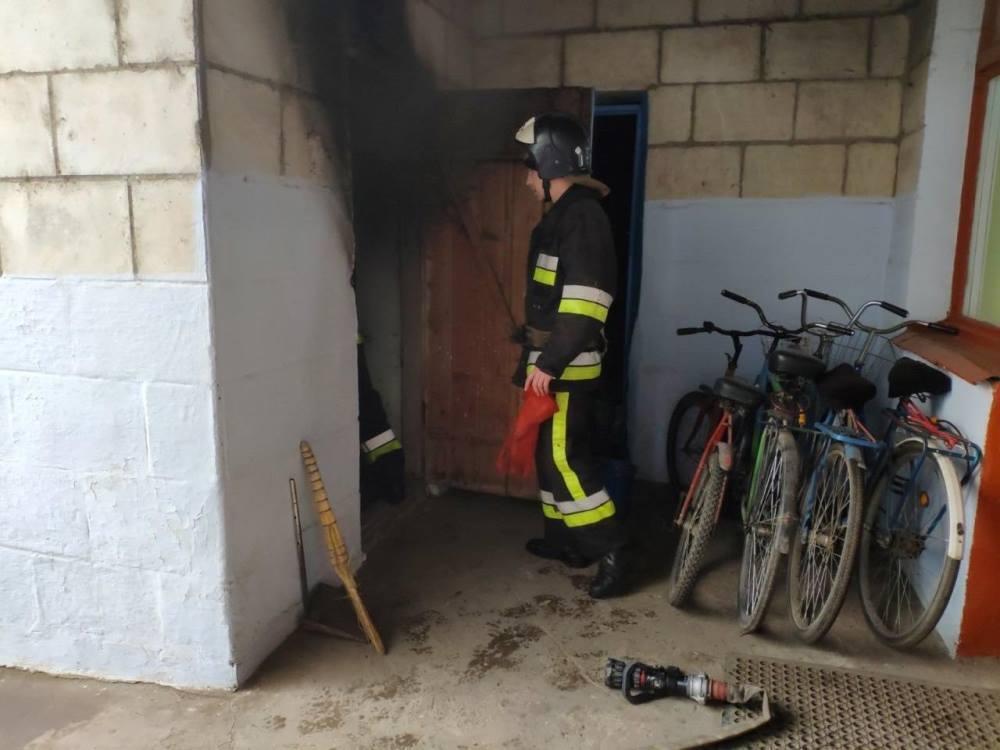На Одесщине вспыхнул пожар в школе