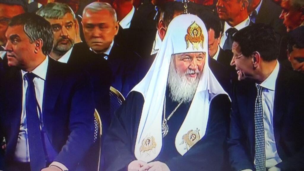 Патріарх Кирил і Володін