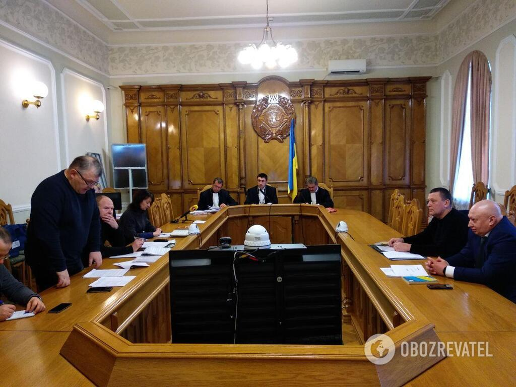 Заседание в Верховном суде Украины