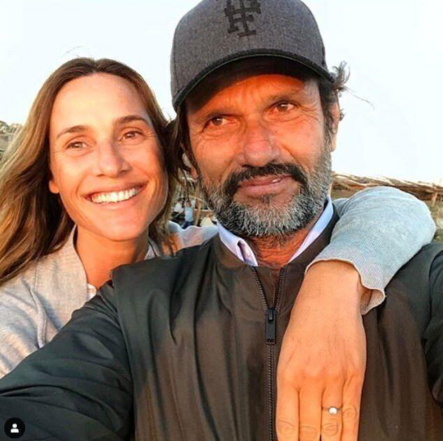 Федеріко Альвареса Кастільо з дружиною