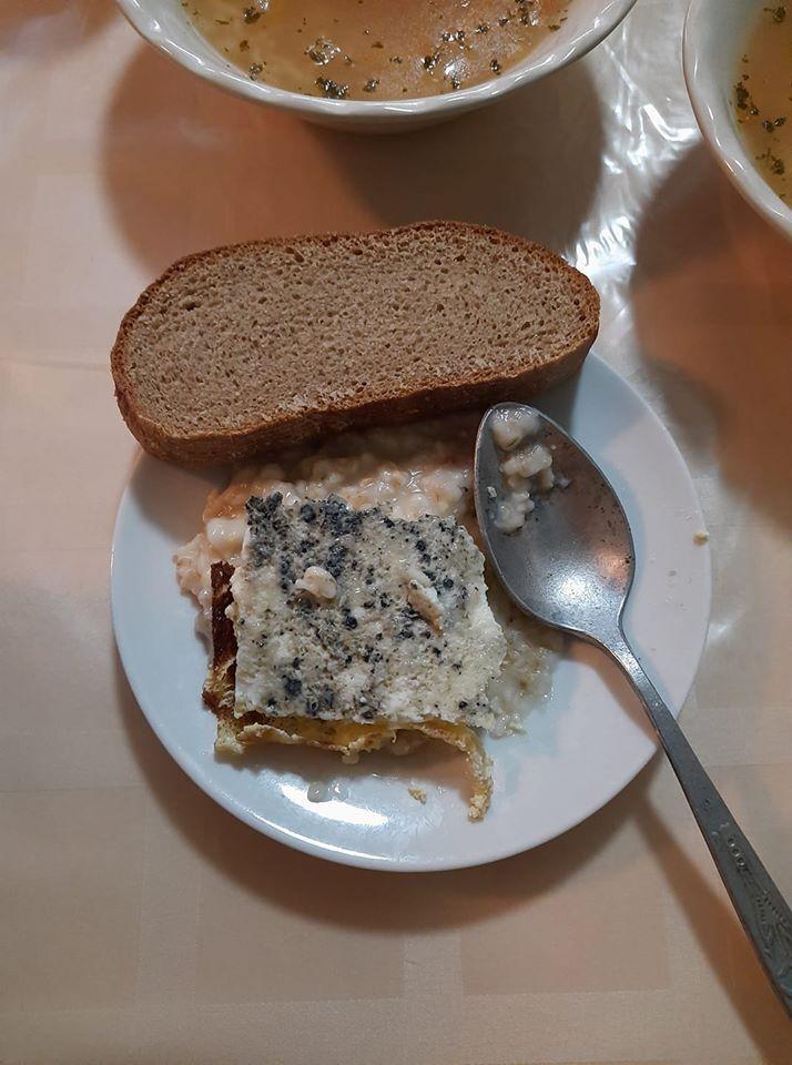 Еда для детей в санатории