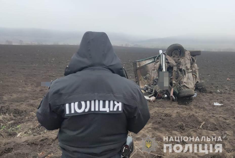 На Одесщине Mercedes попал в жуткое ДТП