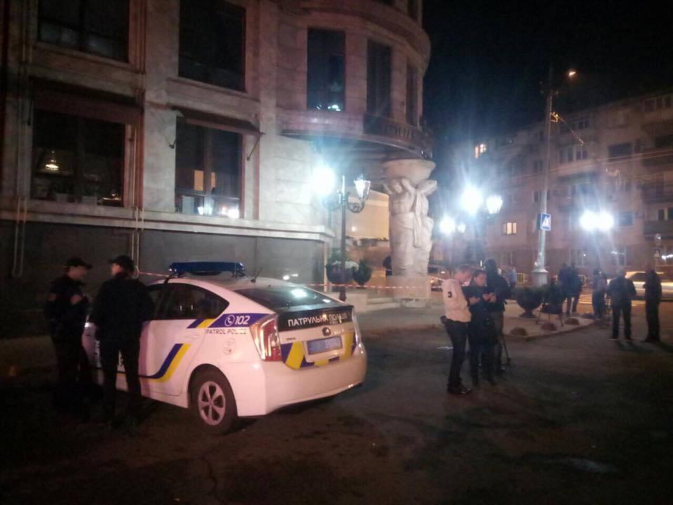 Покушение на чиновника произошло в центре Одессы