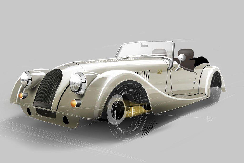 Morgan Plus 4 70th Anniversary Edition отримає ексклюзивне забарвлення і багату обробку