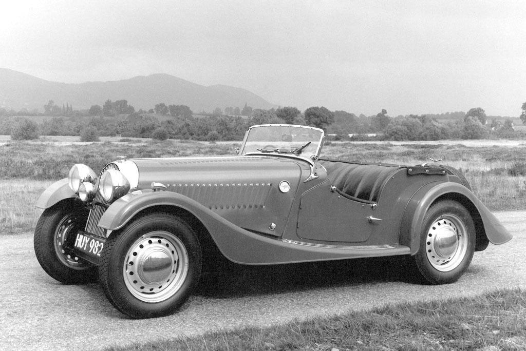 Перший Morgan Plus 4 побачив світло в 1950 році