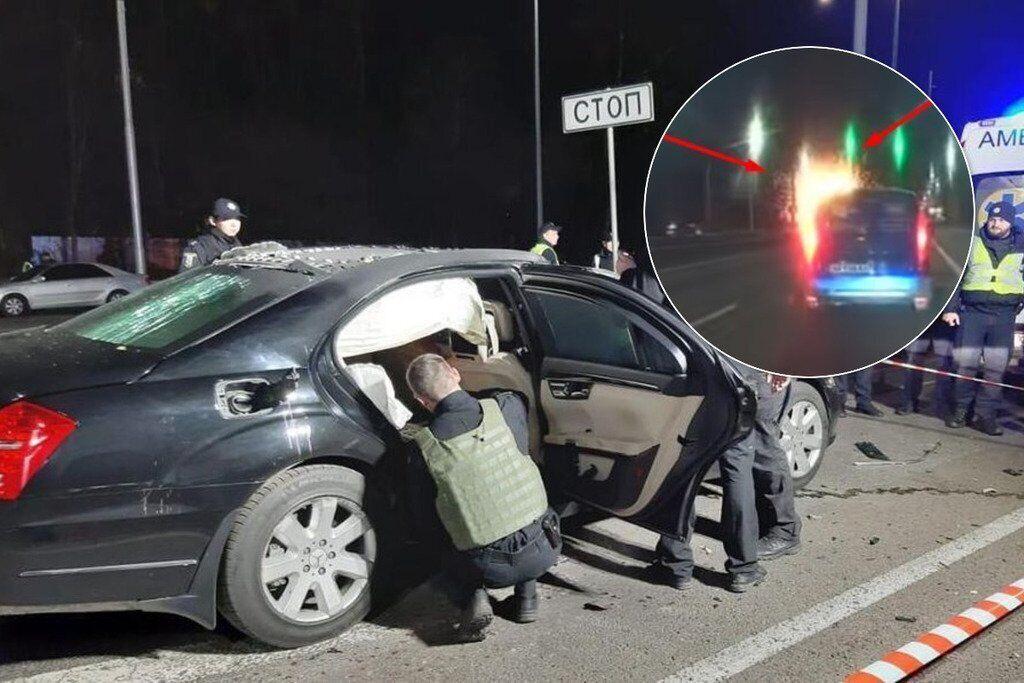 Неизвестный взорвал автомобиль бизнесмена Игоря Сало